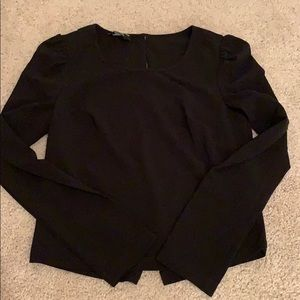 Bebe back surplice blouse 🌹